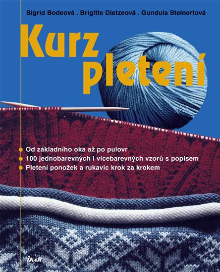 90a4e0d3ccf Kniha Kurz pletení