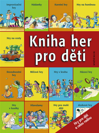 Kniha her pro děti