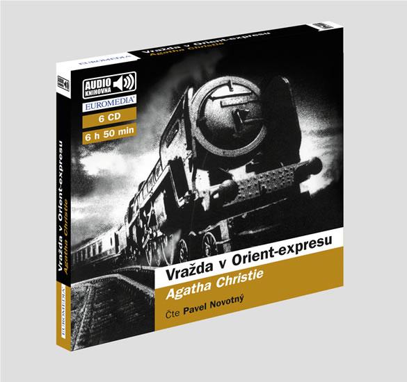 Vražda v Orient-expresu - audioknihovna