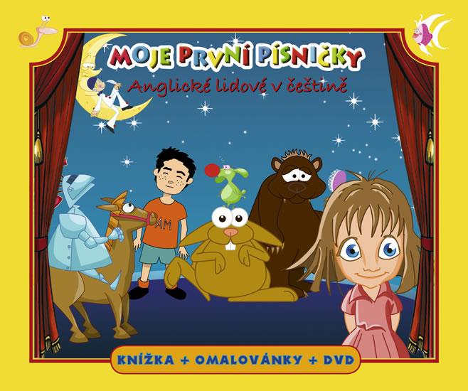 Moje první písničky 3 - Anglické lidové v češtině (+ DVD)