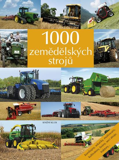 1000 zemědělských strojů - Kombajny, sekačky, mulčovače, kultivátory, brány, secí stroje, traktory...