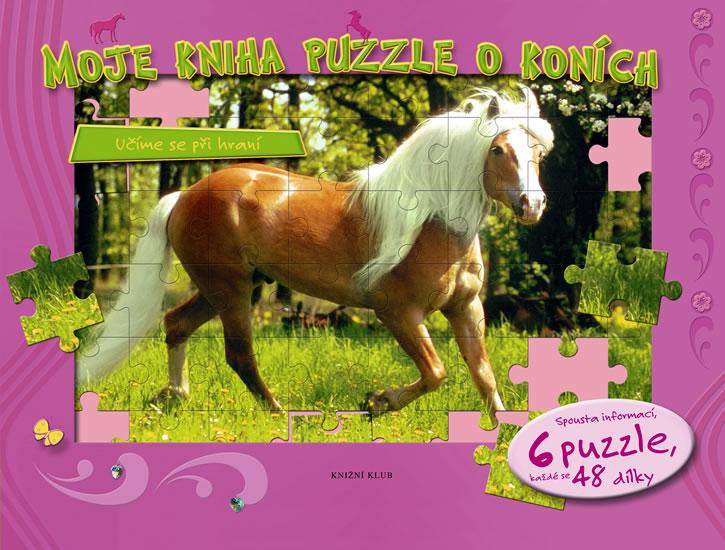 Moje kniha puzzle o koních - Učíme se při hraní