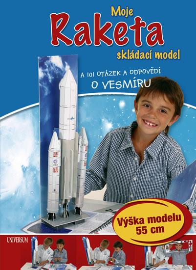 Moje raketa (skládací model) a 101 otázek a odpovědí o vesmíru