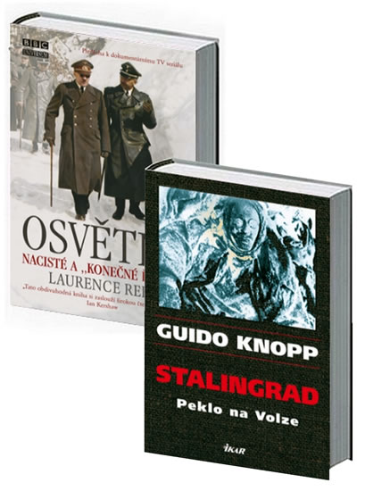 Komplet Stalingrad - 2. vydání+Osvětim - 2. vydání
