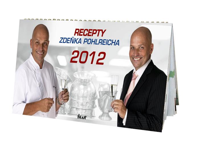 Kalendář 2012 Zdeněk Pohlreich