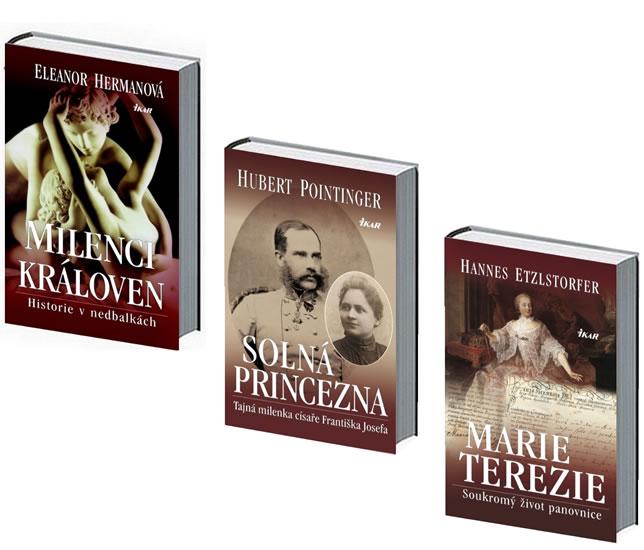 Komplet MARIE TEREZIE – Soukromý život panovnice + Solná princezna + Milenci královen