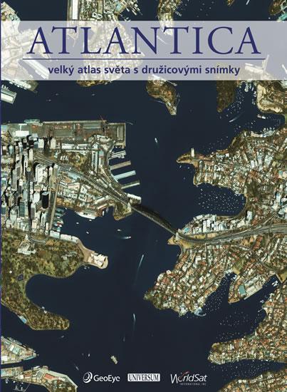 ATLANTICA - Velký atlas světa s družicovými snímky