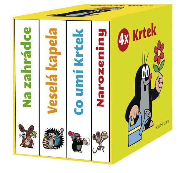 4x Krtek (komplet v krabičce) - Miler Zdeněk