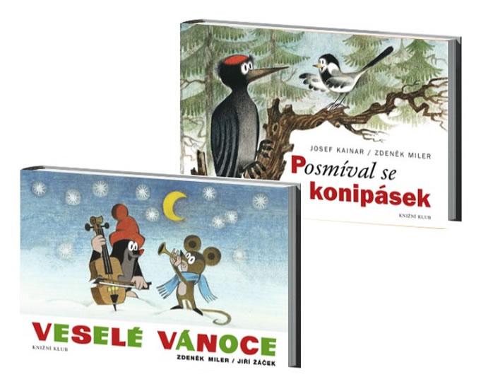 Komplet Veselé Vánoce - 2. vydání + Posmíval se konipásek - 2. vydání