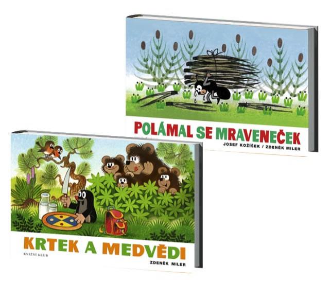 Komplet Polámal se mraveneček - 2. vydání + Krtek a medvědi - 5. vydání