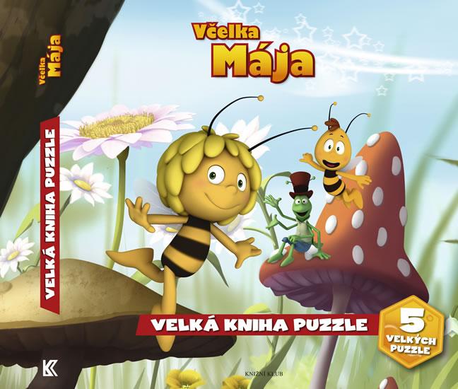 Včelka Mája – puzzle knížka