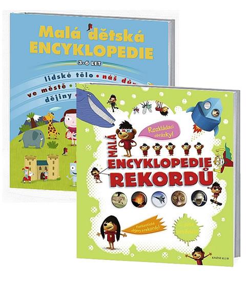 Komplet Malá encyklopedie rekordů + Malá dětská encyklopedie - 2. vydání