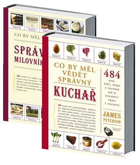 Komplet Co by měl vědět správný kuchař - 2. vydání + Co by měl vědět správný milovník vín
