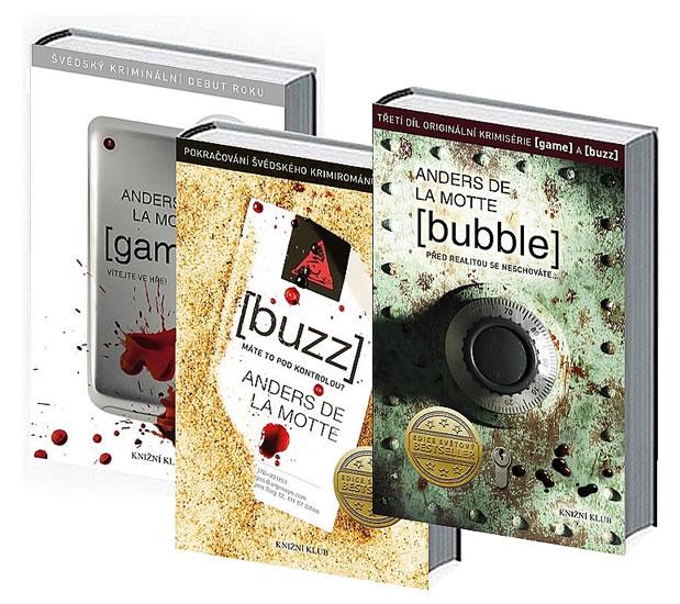 Komplet Bubble + Game + Buzz