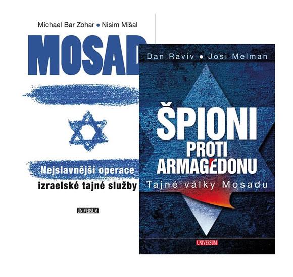 Komplet Špioni proti Armagedonu + Mosad: Nejslavnější operace