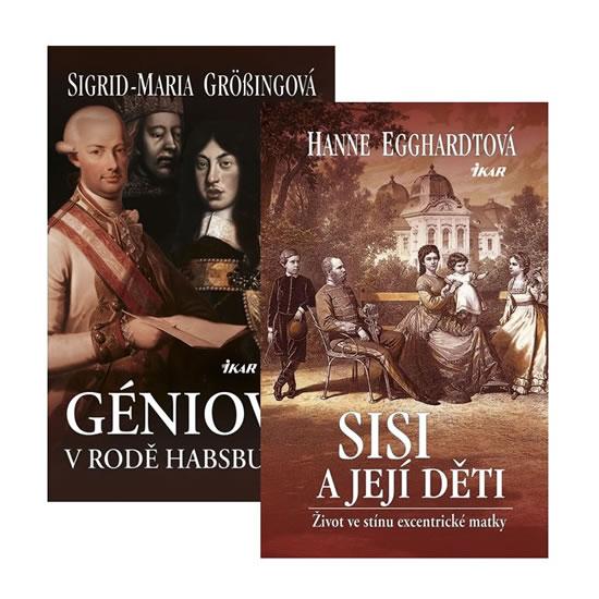 Komplet Sisi a její děti + Géniové v rodě Habsburků