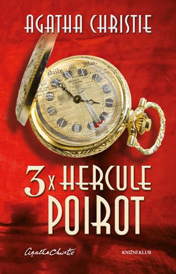3x Hercule Poirot – 2. vydání - Christie Agatha