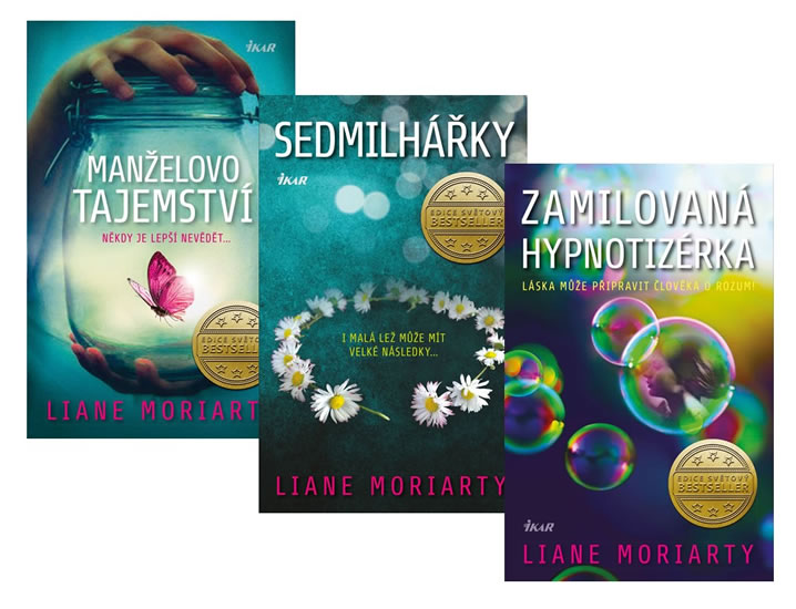 Komplet Zamilovaná hypnotizérka + Manželovo tajemství + Sedmilhářky