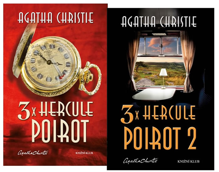 Komplet 3x Hercule Poirot