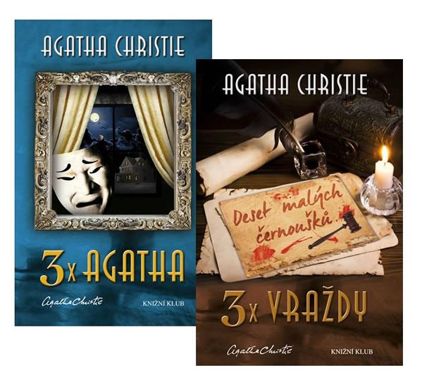 Komplet 3x vraždy + 3x Agatha