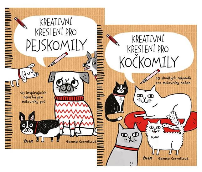Kniha Komplet Kreativni Kresleni Pro Pejskomily Kreativni Kresleni