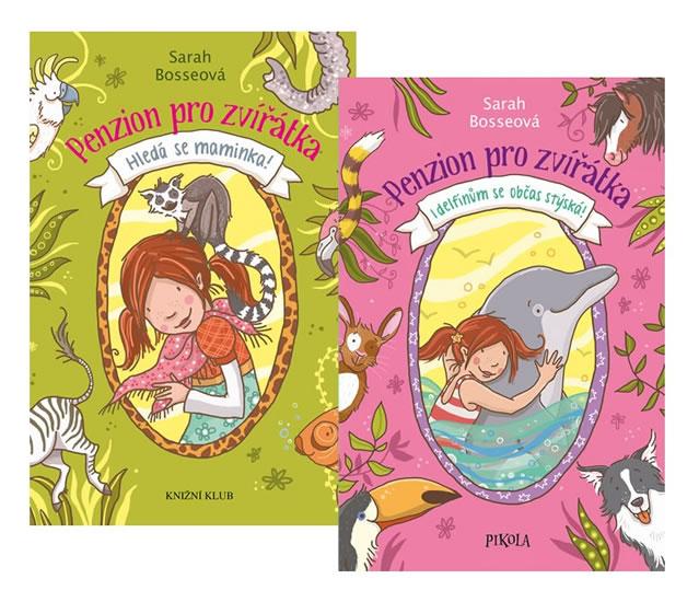 Komplet Penzion pro zvířátka 1: Hledá se... + Penzion pro zvířátka 2: I delfínům se...
