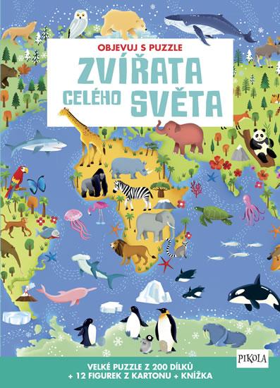 Objevuj s puzzle: Zvířata celého světa