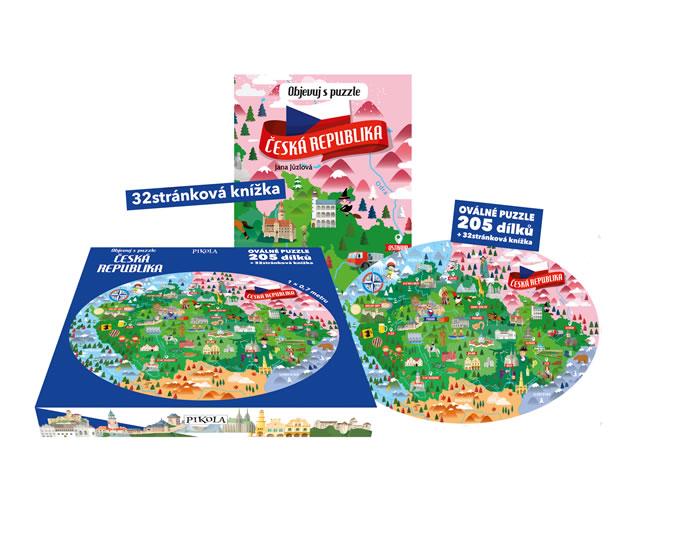 Objevuj s puzzle: Česká republika