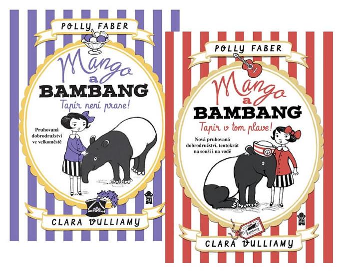 Komplet Mango a Bambang 1: Tapír není prase! + Mango a Bambang 2:  Tapír v tom plave!