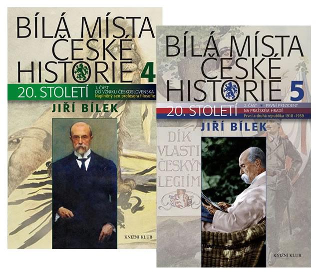 Komplet Bílá místa české historie 4 + Bílá místa české historie 5