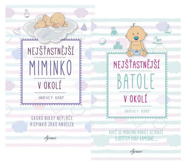 Komplet Nejšťastnější miminko v okolí + Nejšťastnější batole v okolí