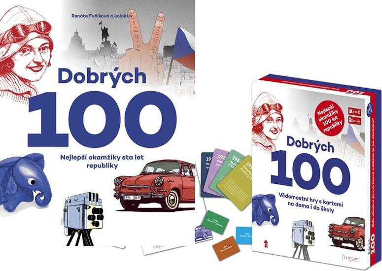 Dobrých 100 kniha + zábavné vzdělávací karty