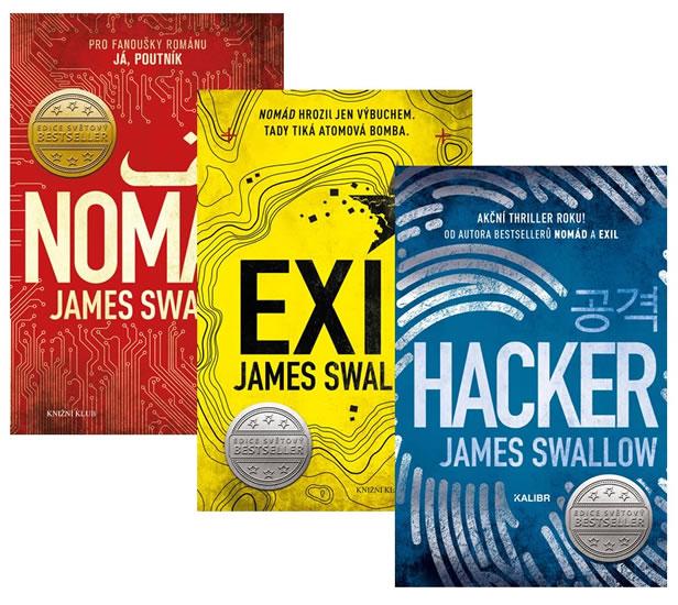 Komplet Nomád 1: Nomád + Nomád 2: Exil + Nomád 3: Hacker