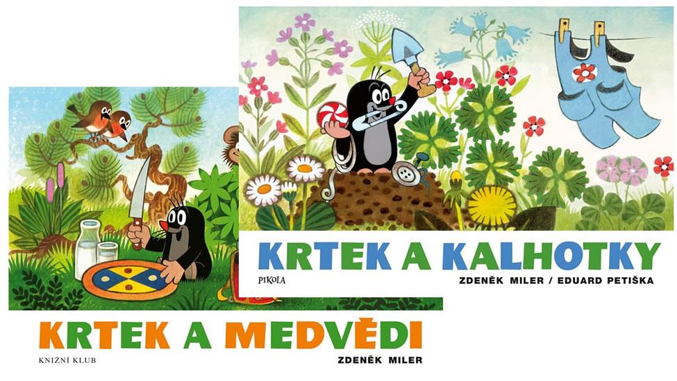 Komplet Krtek a kalhotky + Krtek a medvědi