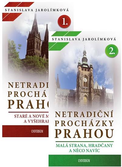 Komplet Netradiční procházky Prahou I + Netradiční procházky Prahou II
