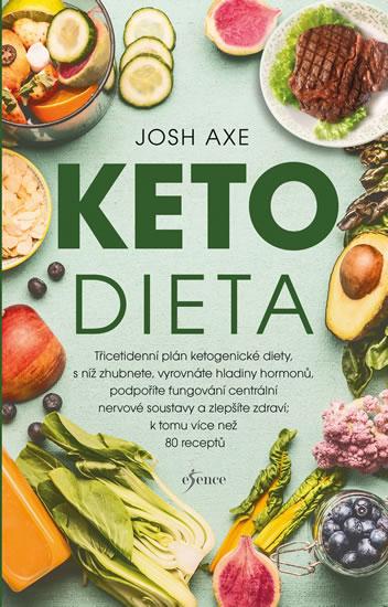 Ketodieta - Třicetidenní plán ketogenické diety, s níž zhubnete, vyrovnáte hladiny hormonů, podpoříte fungování centrální nervové soustavy a zlepšíte zdraví; navíc více než 80 receptů