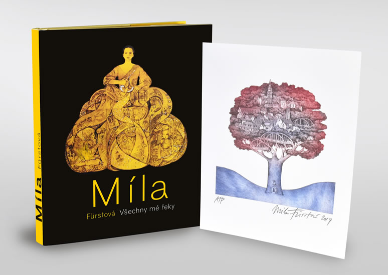 Míla Fürstová: Všechny mé řeky - luxusní vydání