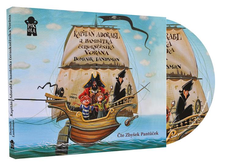 CD KAPITÁN ADORABL A BAMBITKA ČERNOKNĚŽNÍKA VORÁNA