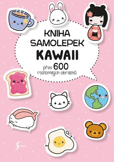 Kniha samolepek: Kawaii