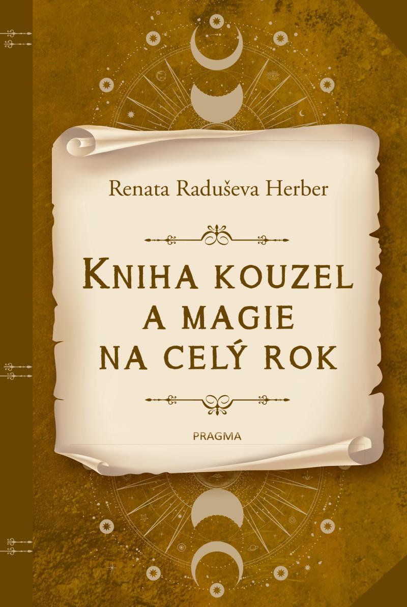 Kniha kouzel a magie na celý rok