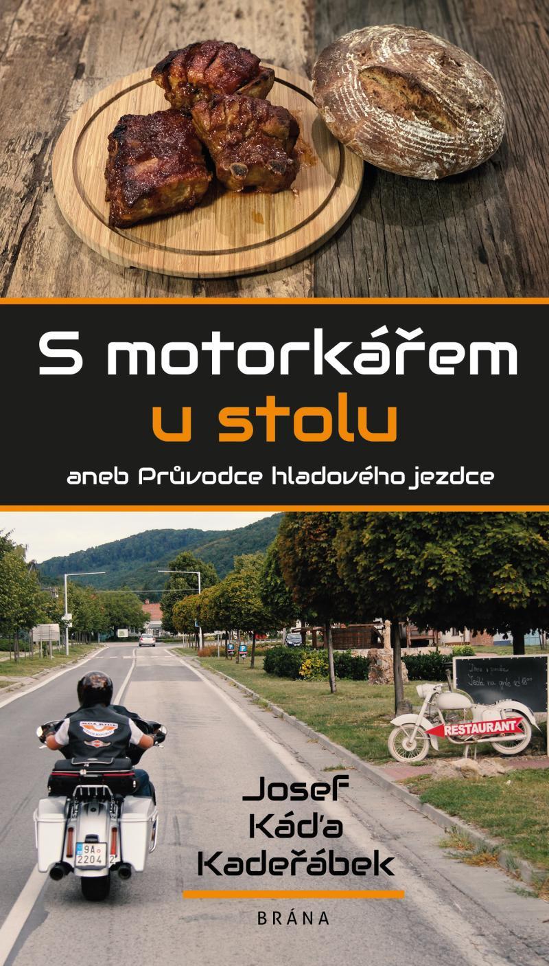 S motorkářem u stolu