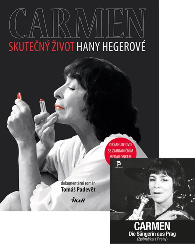 Carmen – Skutečný život Hany Hegerové (komplet s DVD)