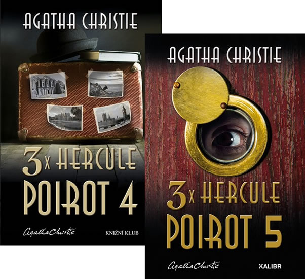 Komplet 3x Hercule Poirot 4 + 3x Hercule Poirot 5
