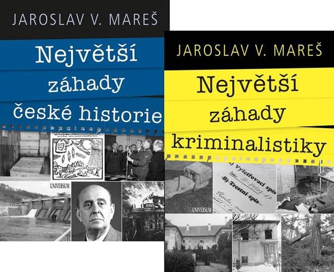 Komplet Největší záhady české historie + Největší záhady kriminalistiky