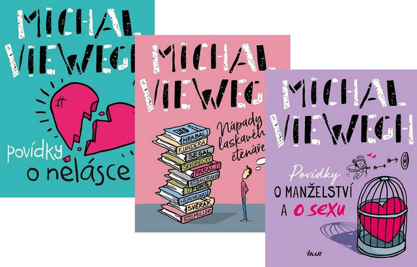 Komplet Nápady laskavého čtenáře + Povídky o nelásce + Povídky o manželství a o sexu