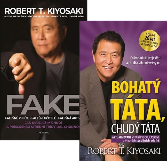 Komplet Fake + Bohatý táta, chudý táta - 2. vydání