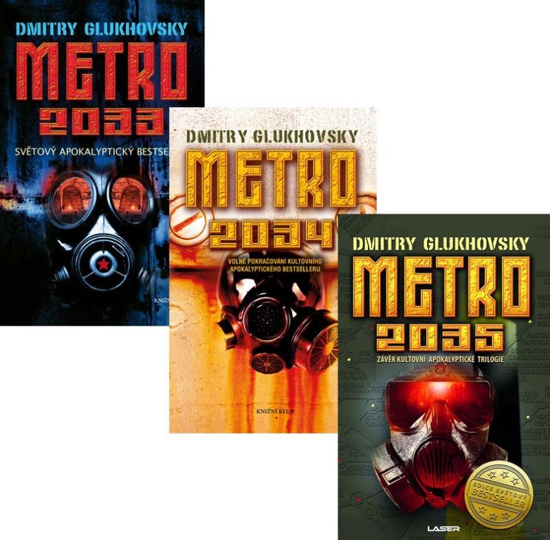 Komplet Metro 2033 + Metro 2034 + Metro 2035