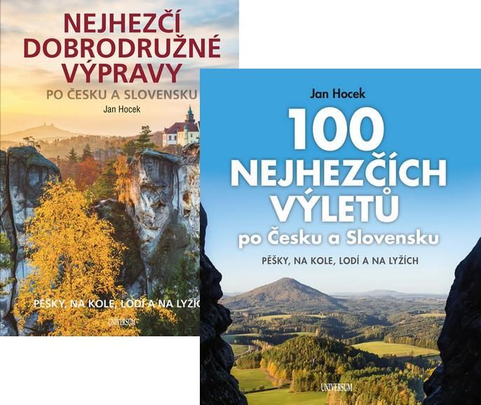 Komplet 100 nejhezčích výletů po Čechách a Slovensku + Nejhezčí dobrodružné výpravy po Česku a Slovensku