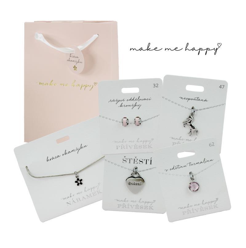 Dárkový set šperků Make Me Happy v taštičce