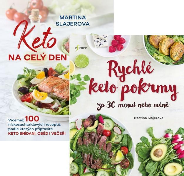 Komplet Keto na celý den + Rychlé keto pokrmy za 30 minut nebo...